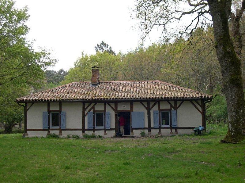 Maison de caractère au coeur de la forêt landaise, holiday rental in Commensacq