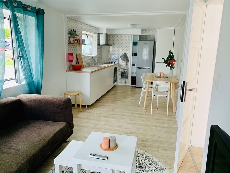 Bel appartement T3 à Guéthary, alquiler vacacional en Guéthary (Getaria)