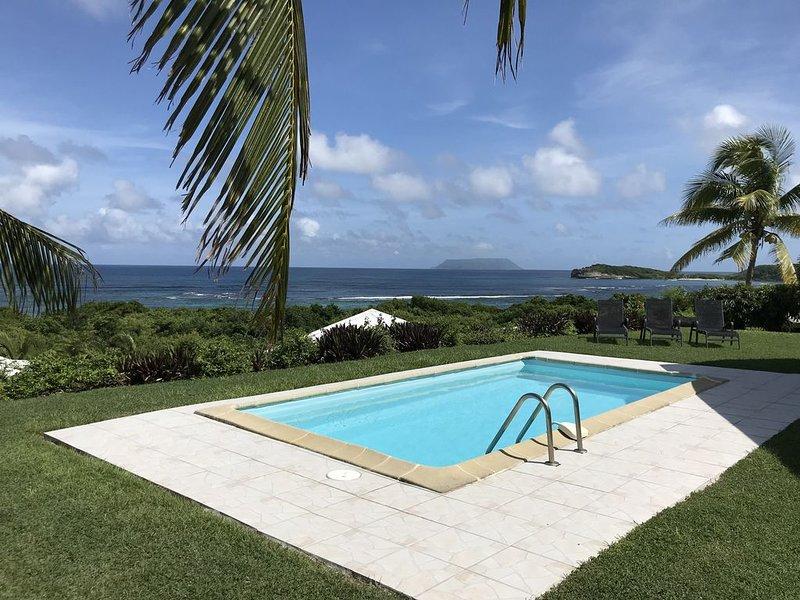 Villa vue mer magnifique avec piscine privée et accès direct à la plage – semesterbostad i Saint Francois