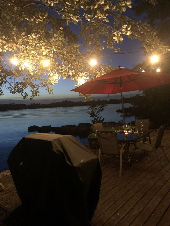 Summer Nights on the Cottage Patio