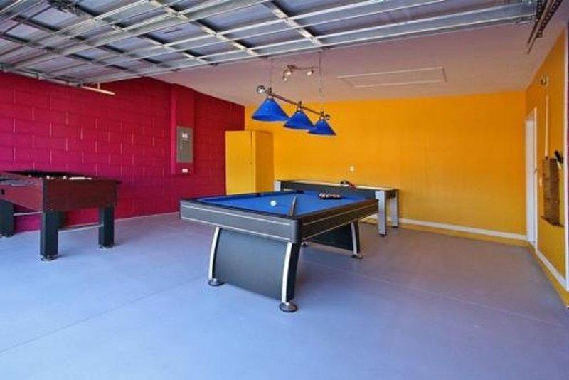 Sala de juegos con aire acondicionado