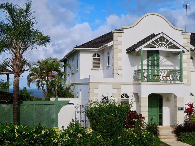Seascape is a large semi-detached townhouse at the top of Sugar Hill Resort