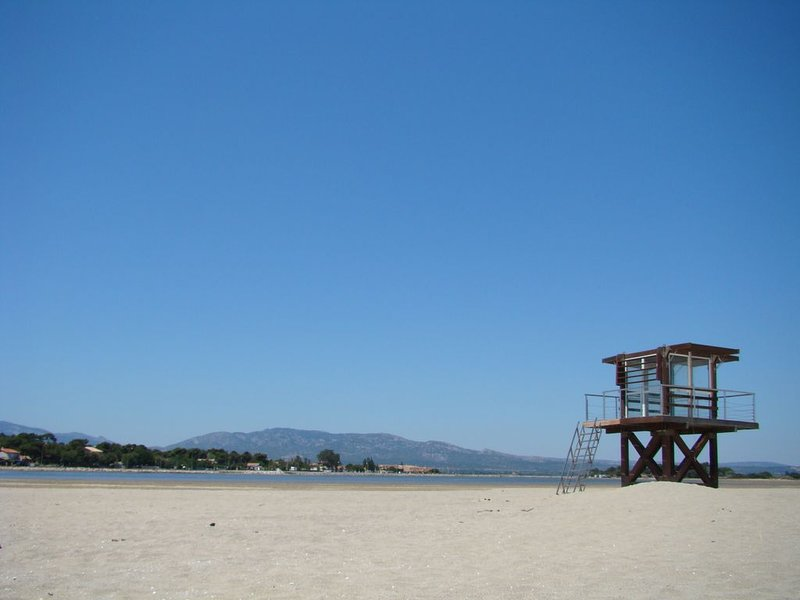 la Franqui - una de nuestras playas favoritas, a una hora en auto