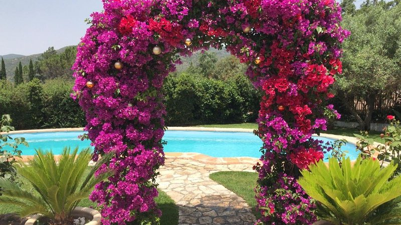 Villa with pool and playing field, holiday rental in Villaggio delle Mimose