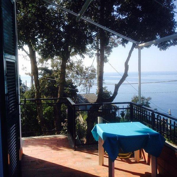 una grande casa affacciata sul mare e circondata dal bosco, holiday rental in Framura
