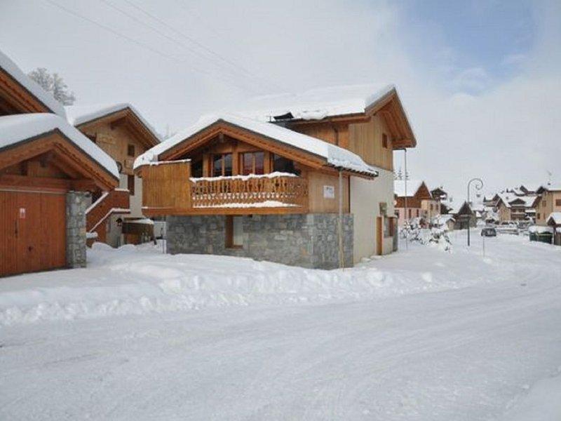 Chalet 12 p. - ski au pied - charme et confort - SPA - les Menuires (Bettaix), location de vacances à Les Belleville
