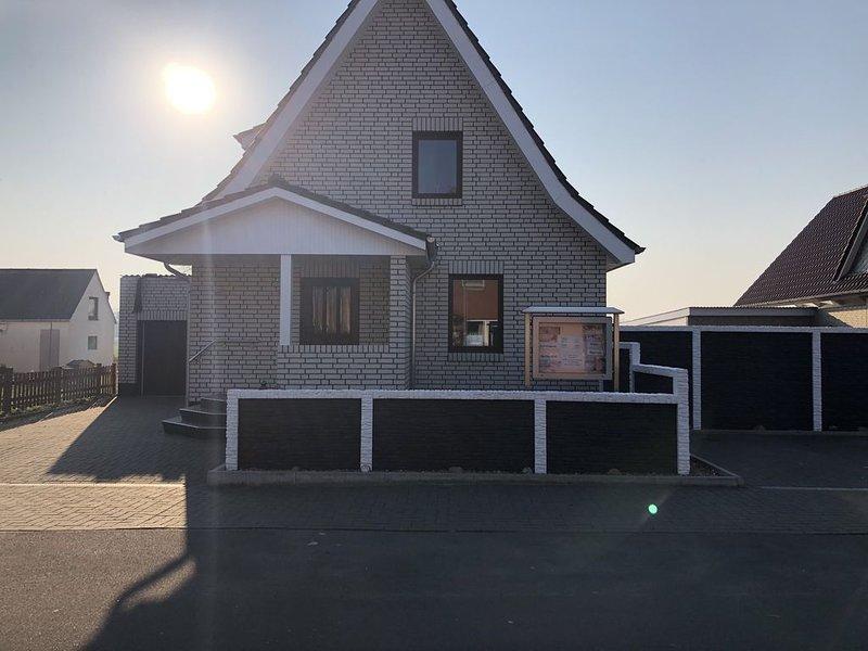 Familienfreundliches Ferienhaus, Strandnähe, Haustiere erlaubt, für 2-6 Pers., alquiler vacacional en Wurster Nordseeküste