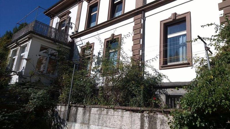 Moderne, geräumige und bequeme Wohung in Villa mit guter Verkehrsanbindung, Ferienwohnung in Bürchau