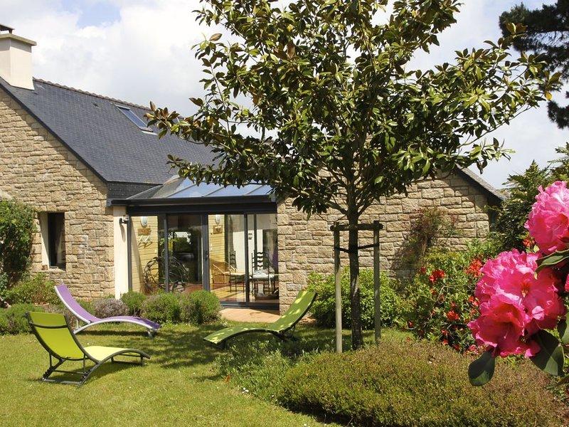 Maison architecte classée 3 étoiles, proche bourg et plages, thalasso et port, location de vacances à Arzon