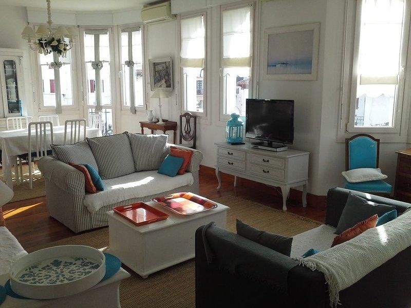 appartement meublé de 120m2 dans villa, centre ville à Saint-Jean-de-Luz, location de vacances à Saint-Jean-de-Luz
