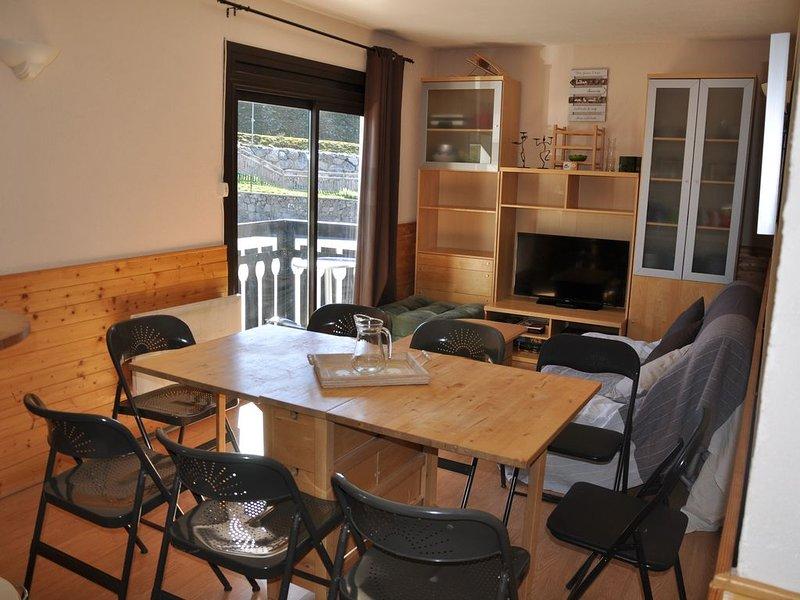 St LARY SOULAN PLA D'ADET appartement aux pieds des pistes, exposition plein sud, casa vacanza a Tramezaigues