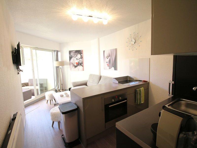 Appartement Les Goëlettes à Saint Cyprien Plage, Pyrénées - Orientales - 4 pers, casa vacanza a Saint-Cyprien