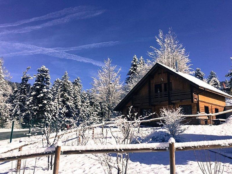 Chalet de Jeanne avec WIFI, JACCUZI & SAUNA privatif à 2min des pistes de ski, vacation rental in La Bresse