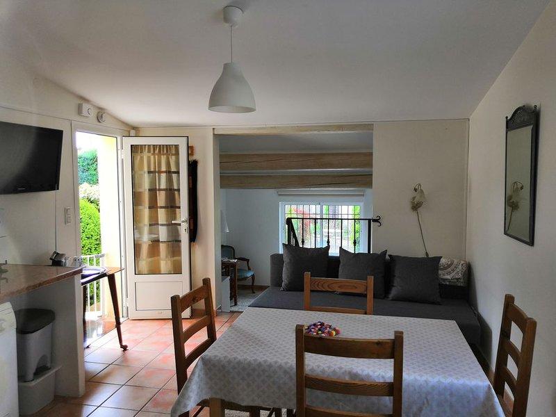Equipement et décor de qualité et confort. Témoigné par nombreux clients., holiday rental in Velleron