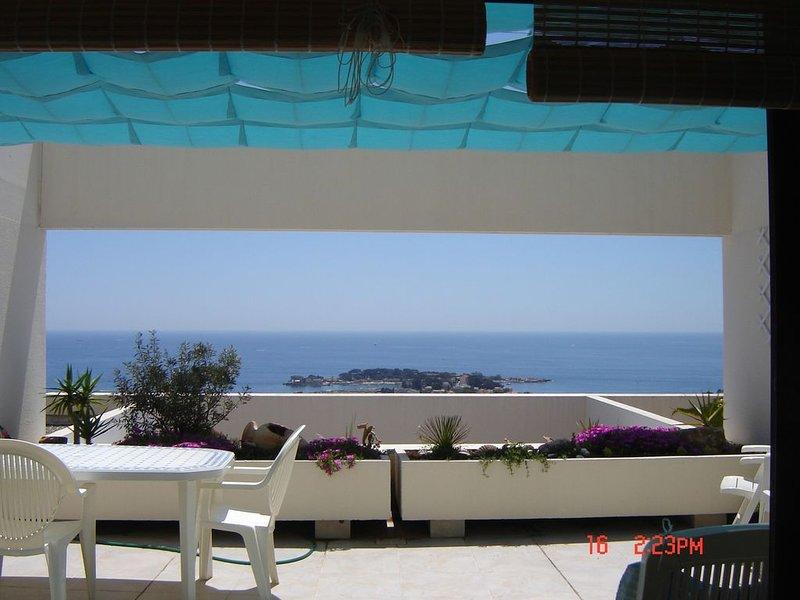 appartement  grand confort  terrasse vue mer  residence  piscine, aluguéis de temporada em Bandol