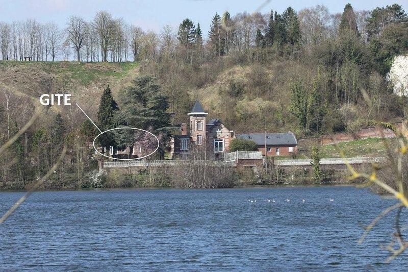Gite les étangs de la Barette. Vallée de Somme. Amiens, location de vacances à Frise