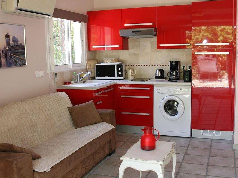 Le lavandou 150 m plages et commerces ,mazet 28 m2 ds quart calme et residentiel, alquiler vacacional en Le Lavandou
