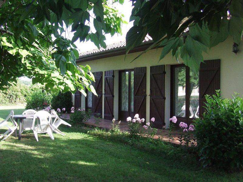 Meublé de tourisme classé ** - Label ''Clévacances'' 2 clefs, casa vacanza a Arsac