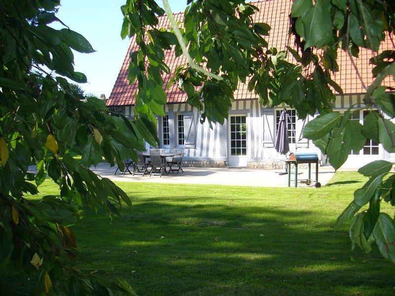 Maison normande Luneray proche mer et véloroute (piste cyclable ), holiday rental in Bretteville-Saint-Laurent