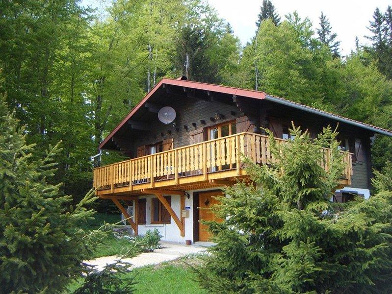 Chalet de montagne à Lamoura Jura, location de vacances à Les Rousses