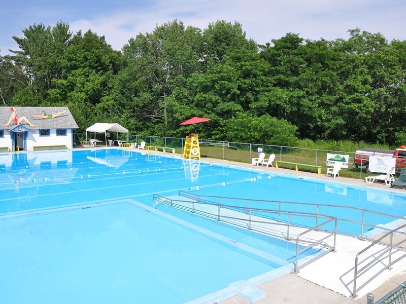 Wonderful, new town pool 1 mile from house!  Guests may buy day passes at site.