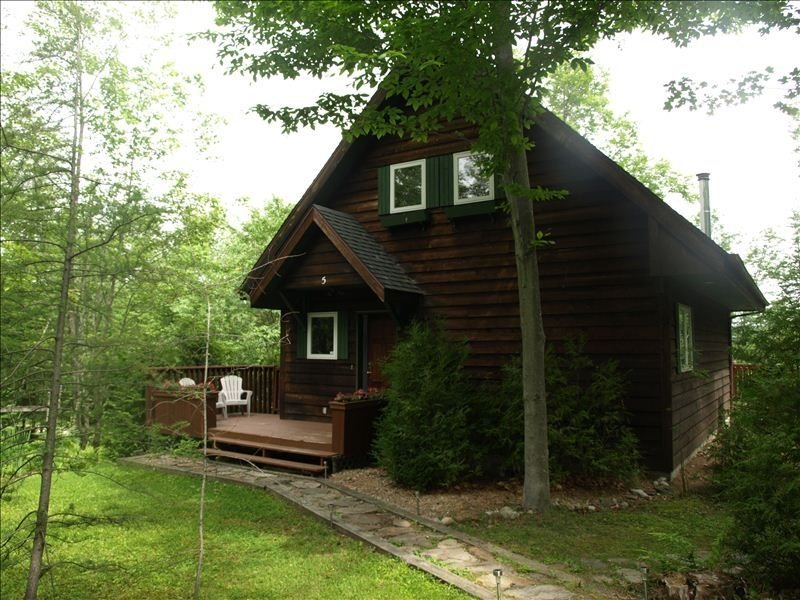 Lake Access, 4 Bd  Mountain Chalet  (CITQ accredited, # 294327), alquiler vacacional en Mont Tremblant