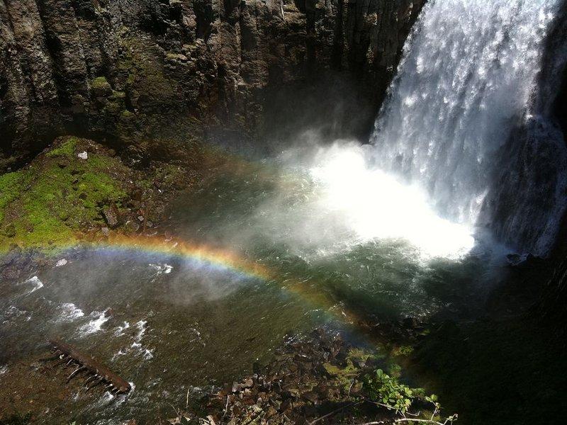 Belle journée de randonnée à Rainbow Falls
