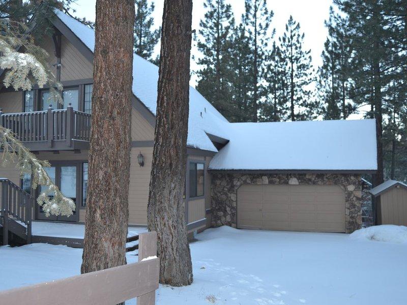 McAlister Cabin en invierno