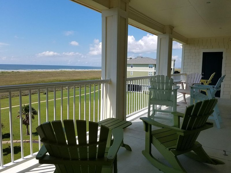 Great unobstructed View of Gulf - Top Floor Condo - Available Thanksgiving, holiday rental in Jamaica Beach