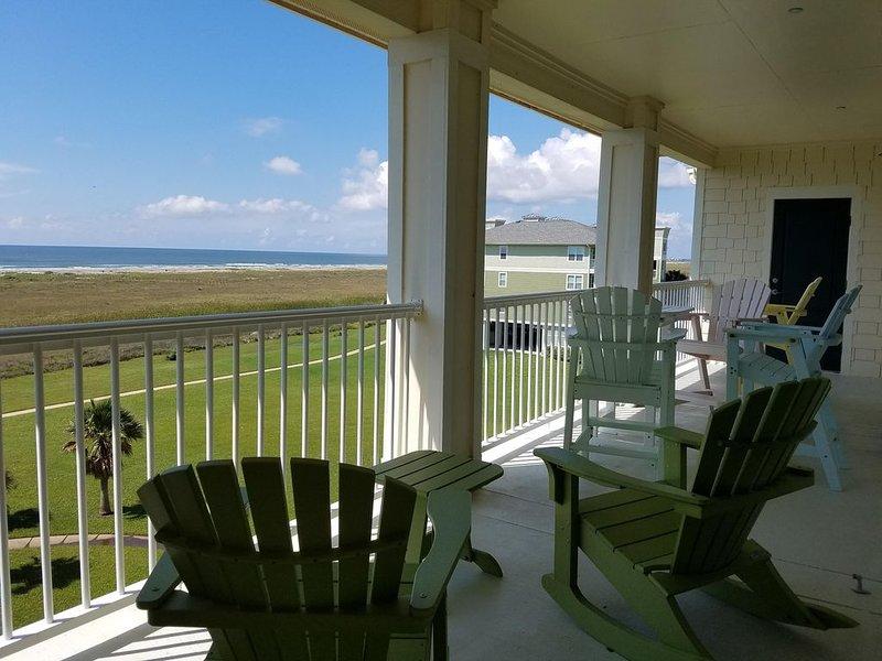 Great unobstructed View of Gulf - Top Floor Condo - Available Thanksgiving, alquiler de vacaciones en Jamaica Beach