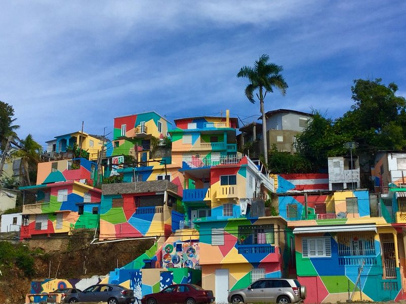 Pintalto is the newest and picturesque attraction in Aguadilla.  Murals galore
