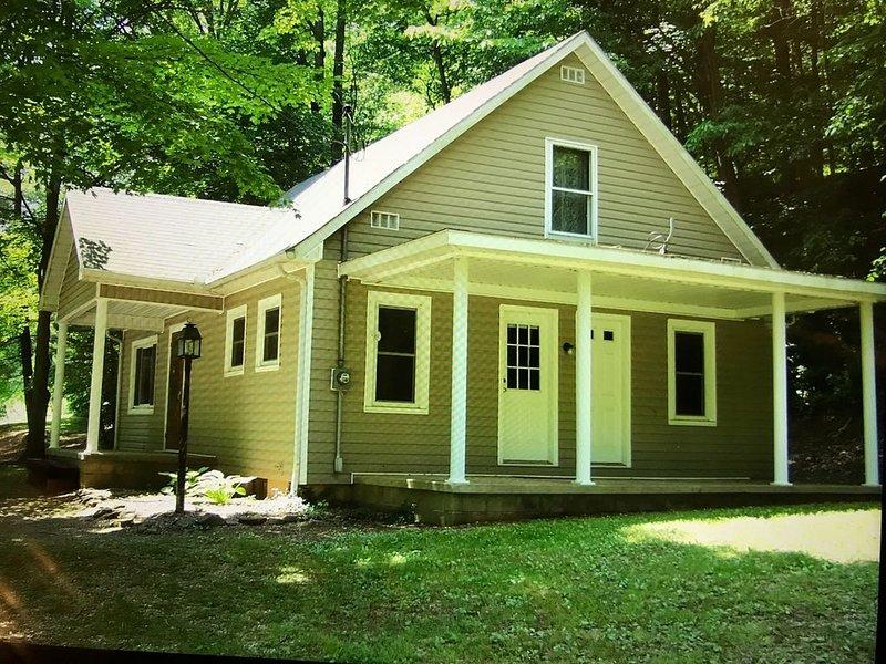 Cottage Near Caves, WiFi, Pool Table, Hot Tub, Grill, Fire Pit, Pet Friendly, TV, aluguéis de temporada em South Bloomingville