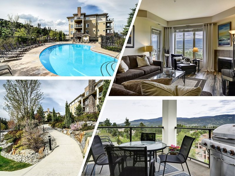 High End Family Condo with Pool/Golfing/Gym, alquiler de vacaciones en Kelowna