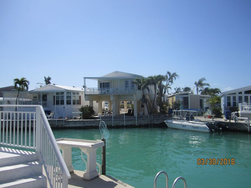 Shangri-la in the Keys! Enjoy the water views and a 45' dock space!, holiday rental in Cudjoe Key