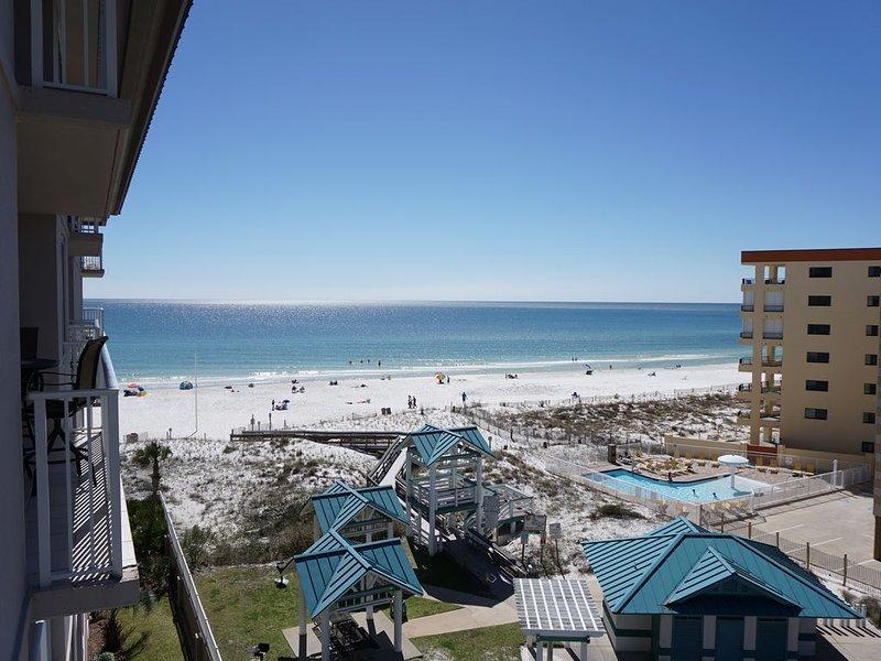 Gulf View Beach Front Condo at Ft. Walton Beach/Destin, Florida, holiday rental in Fort Walton Beach