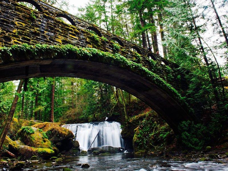 Whatcom Falls! La plus belle randonnée à seulement 10 minutes de la maison de location.