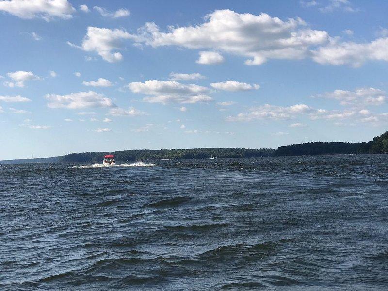 Ver cruzar el lago Kentucky