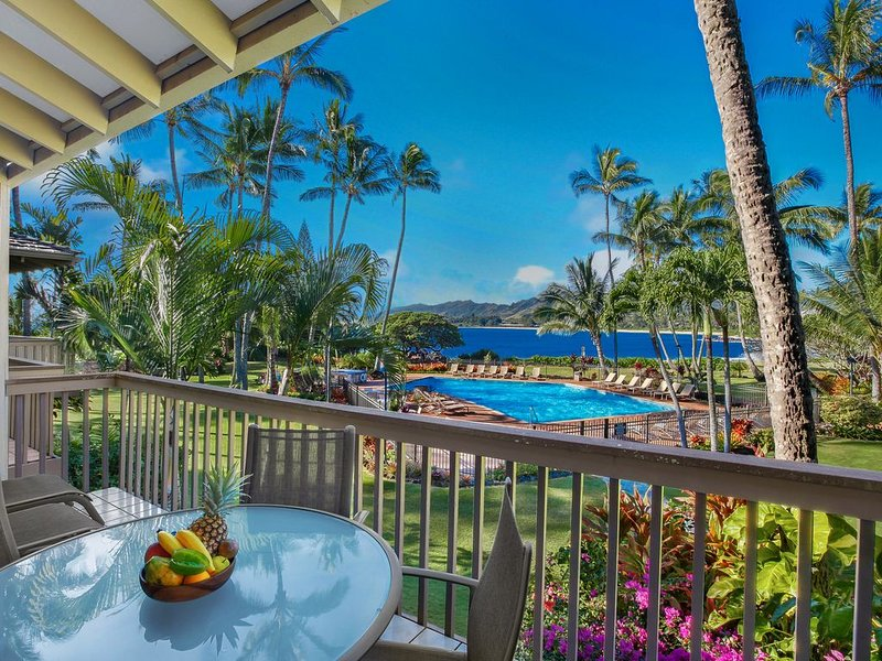 Lae Nani #124, Ocean Front, wonderful view, tastefully remodeled, vakantiewoning in Kapaa