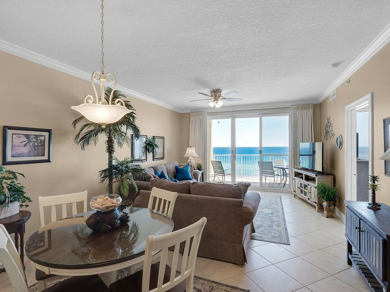 Beachfront*Huge Balcony*Spectacular View*5 Star Rated*BOOKING NOW-APRIL IS OPEN*, vacation rental in Panama City Beach