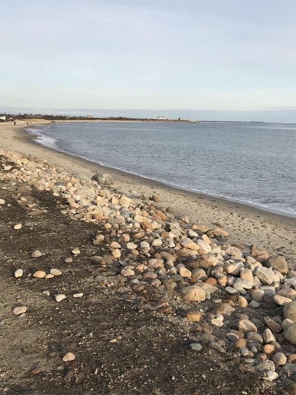 Un mile de plage de sable à quelques pas de la maison, Décembre 2018 marée haute