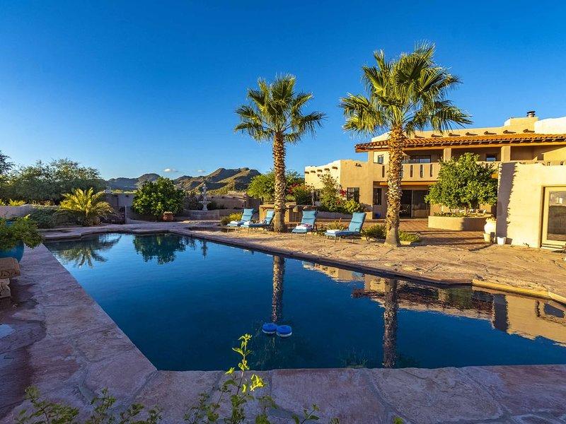 Private Hacienda Near Ritz Carlton Dove Mountain - Stunning Views on 5 acres, alquiler vacacional en Tortolita