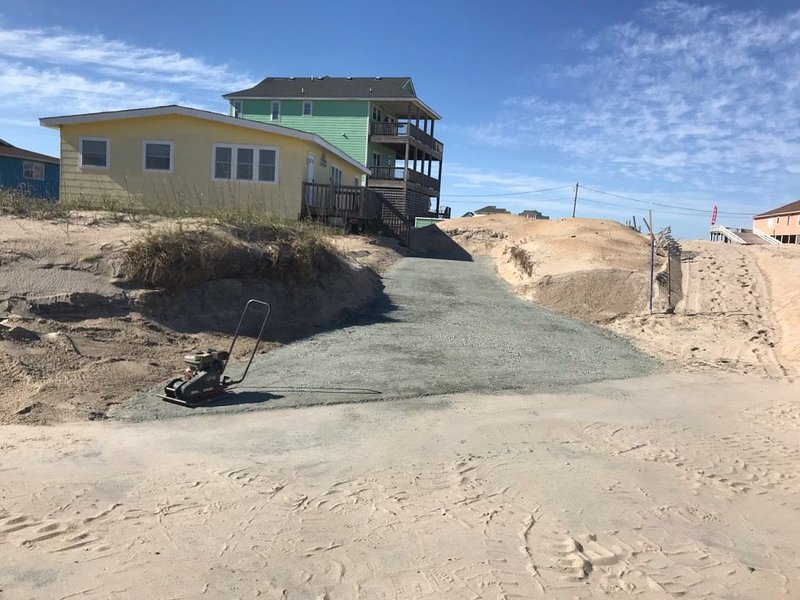 Pet Friendly, Cozy Beach Cottage, Oceanfront, access beach from fishing pier, location de vacances à Rodanthe