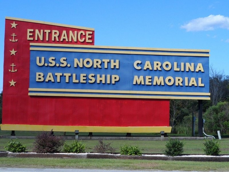 USS North Carolina battleship in Wilmington