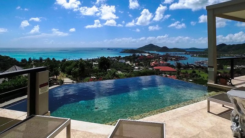 LUXURY AT ITS BEST, INCREDIBLE VIEWS, INFINITY POOL, BEST REVIEWED, CLEAN-SAFE – semesterbostad i Antigua Och Barbuda