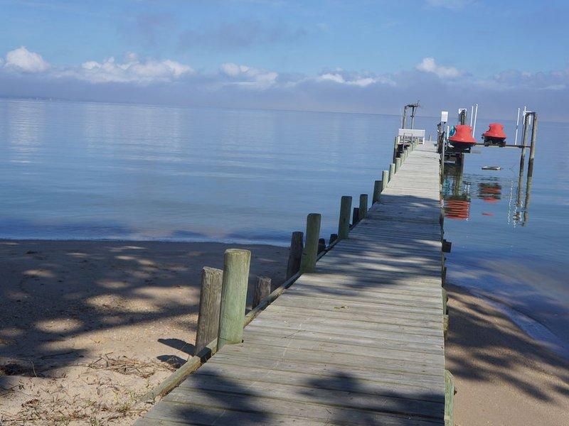 Belle vue sur 10 miles avec une plage de sable fin!
