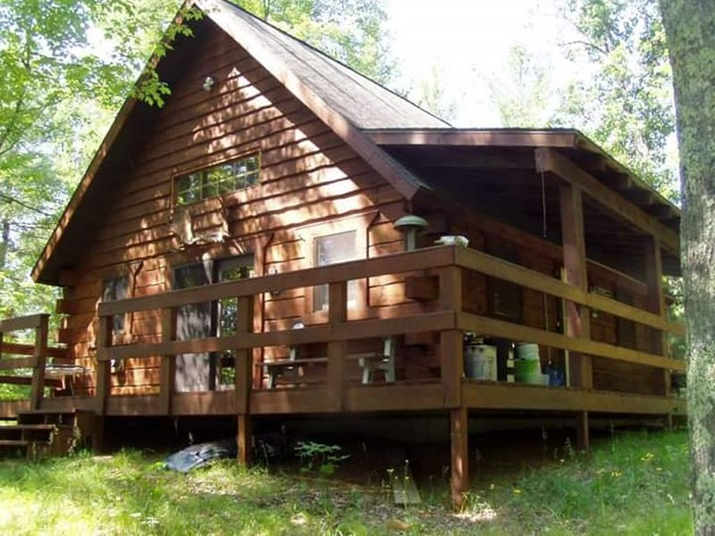 Woody's  Cozy Cabin on the Menominee, alquiler vacacional en Wausaukee