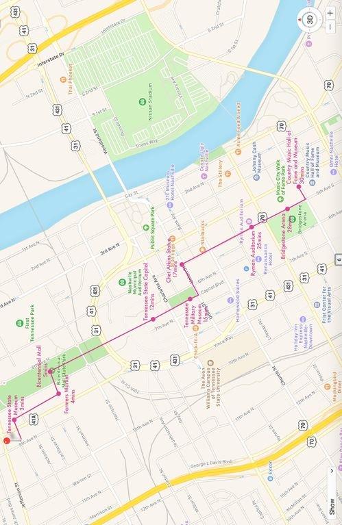 La mejor ruta peatonal del centro