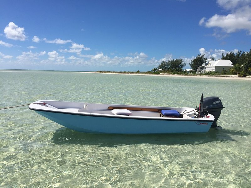 Stunning Beach View Waterfront Home: Kayaks, Boat, Private Dock, Walk to Beach, vacation rental in Lubbers Quarters