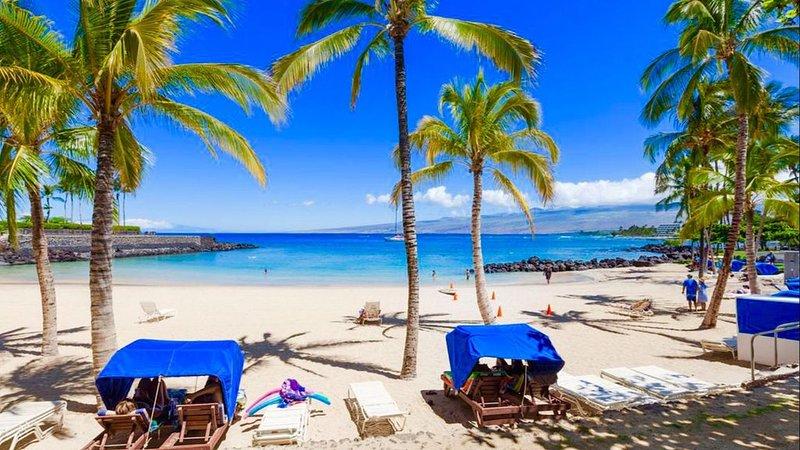 Mauna Lani 3 BR Luxury T-Home, walk to Fairmont beach! Rare Gem! Golf, Shop, Spa, location de vacances à Kamuela