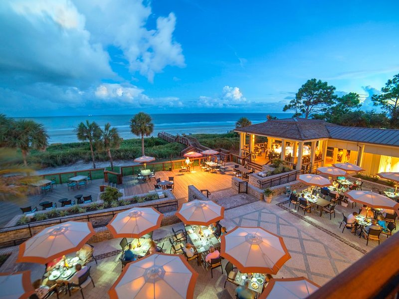 Guests can access Sea Pines Beach Club and amenities, bars, restaurants, etc.
